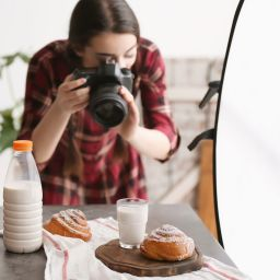 bakery photography shoot